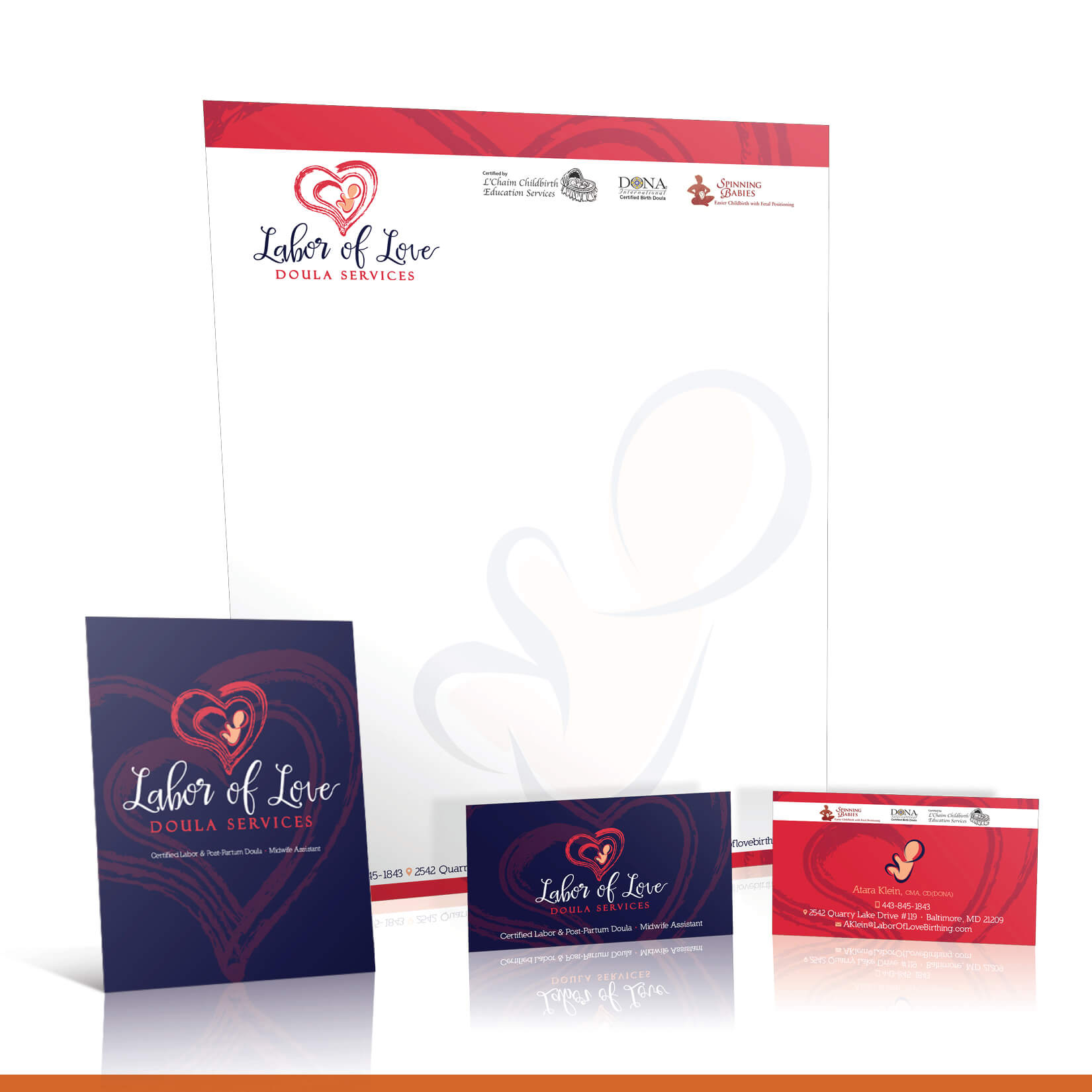 Labor of Love stationary